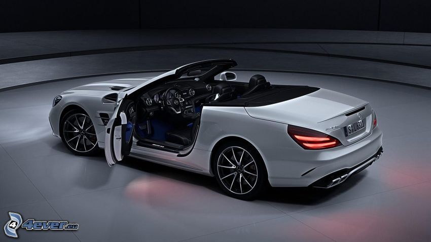 Mercedes SL, descapotable