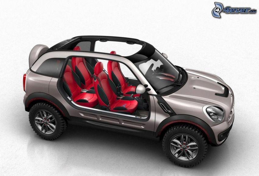 Mini Cooper, SUV, concepto