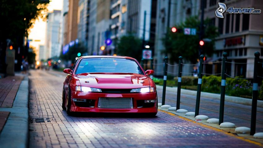 Nissan 240SX, calle