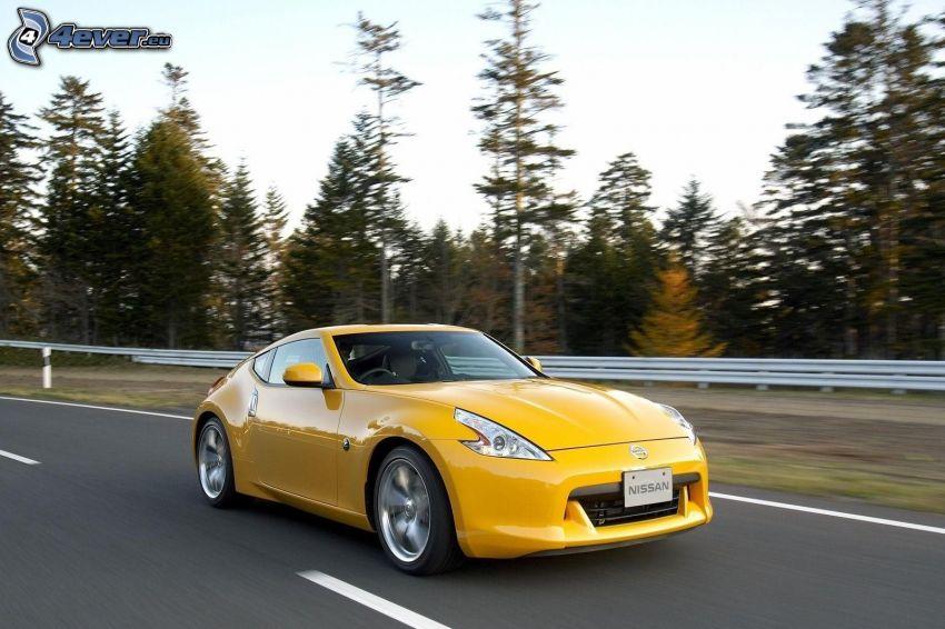 Nissan 307Z, camino, acelerar