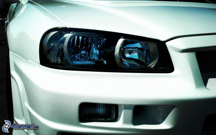 Nissan Skyline GT-R, faro delantero