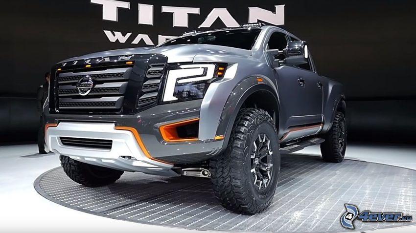 Nissan Titan, exposición, Motor Show