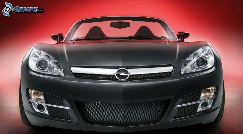 Opel GT, delantera de coche