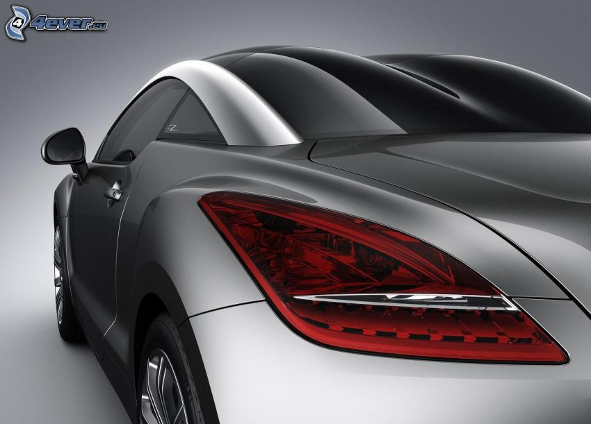 Peugeot 308CC, luz trasera