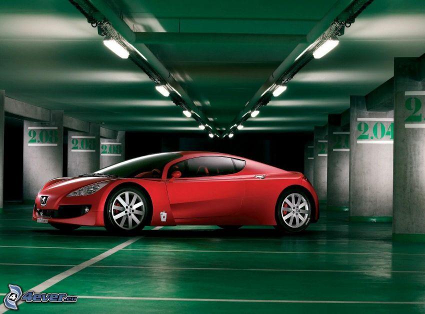 Peugeot RC, garaje