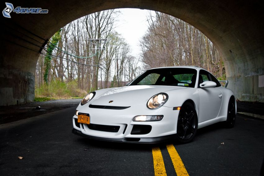 Porsche, túnel