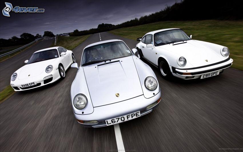 Porsche 911, evolución, acelerar
