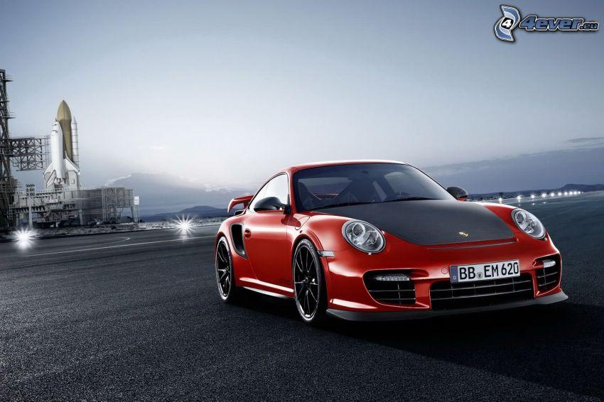 Porsche 911, transbordador espacial