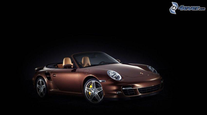 Porsche 911 Turbo, descapotable