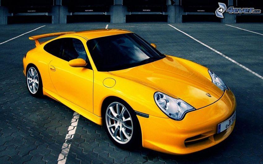 Porsche 997 GT3, parking