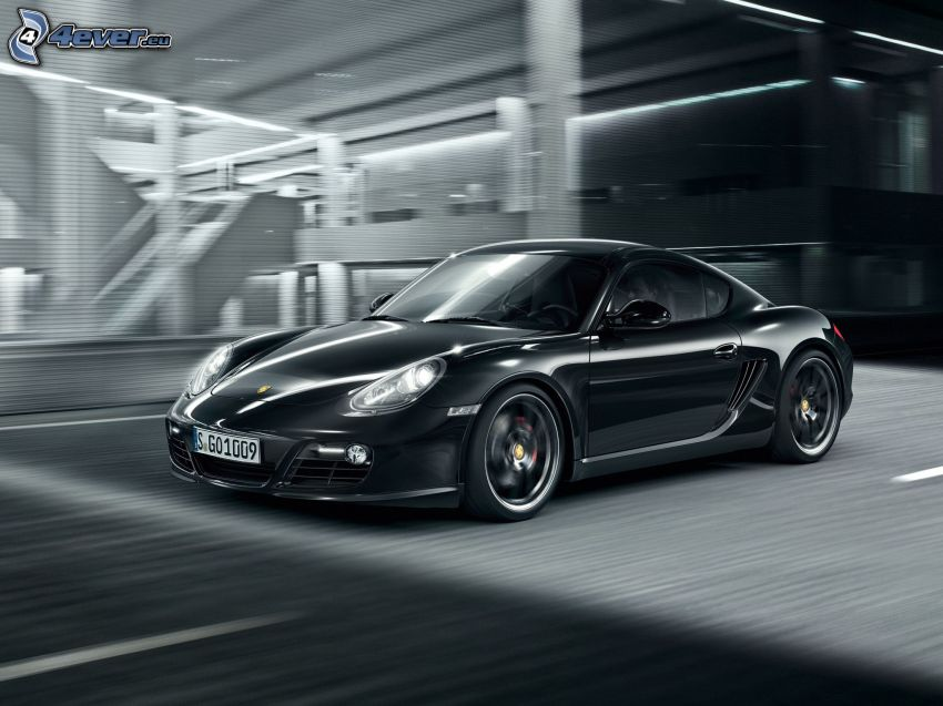 Porsche Cayman S, acelerar