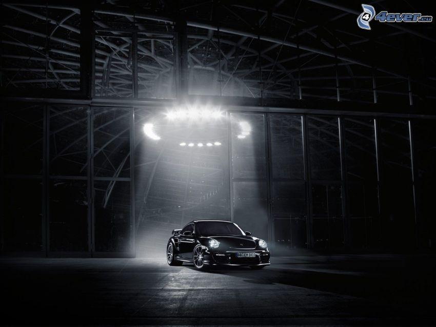 Porsche GT2, luz