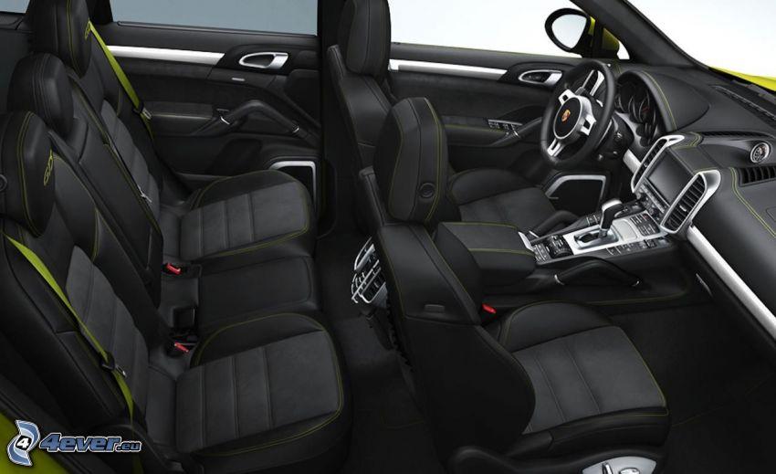 Porsche Macan, interior