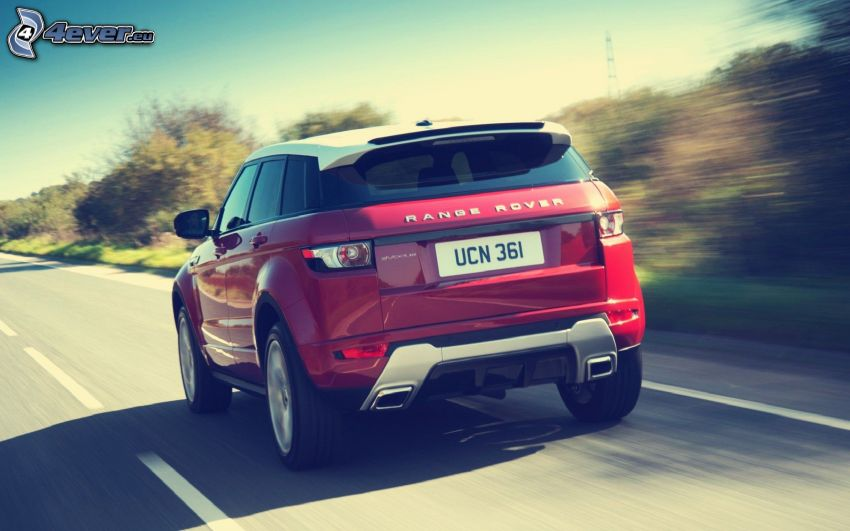Range Rover, acelerar