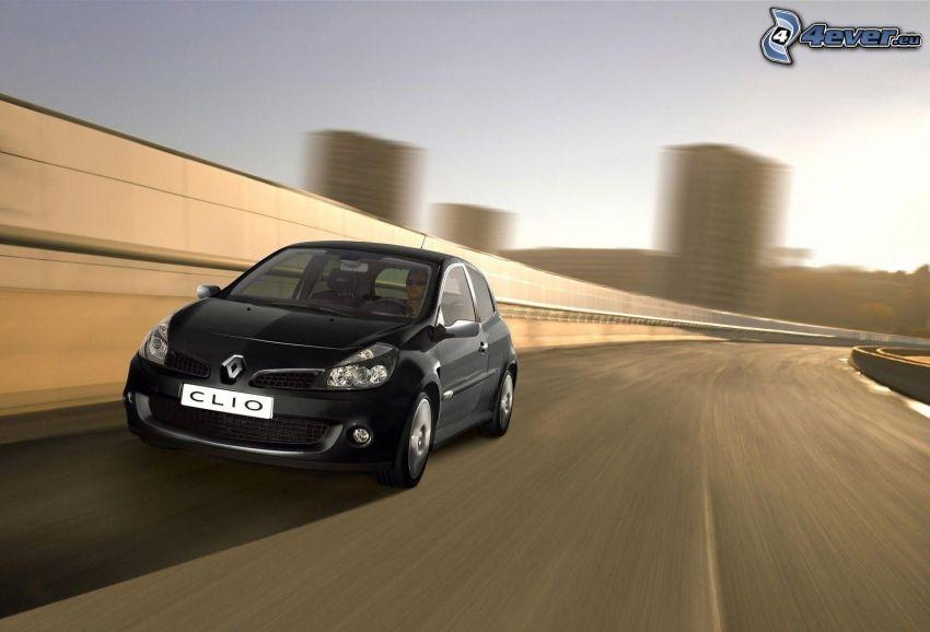 Renault Clio, acelerar