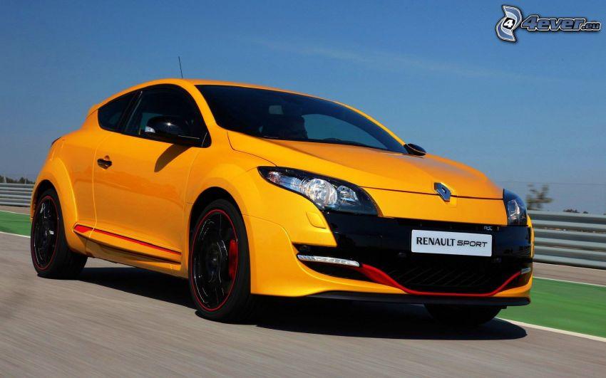 Renault Mégane, acelerar