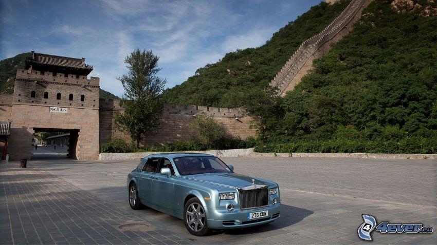 Rolls-Royce 102 EX, Murralla de China