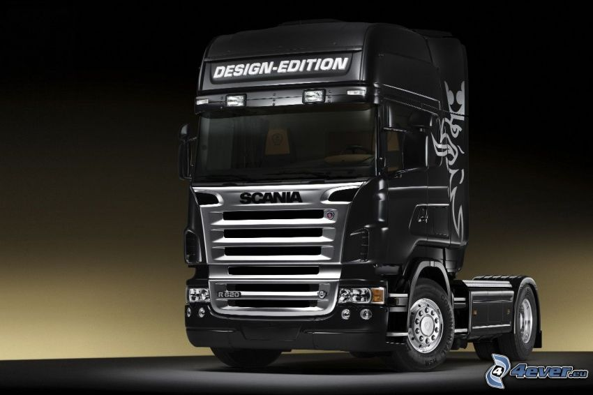 Scania R620, remolque