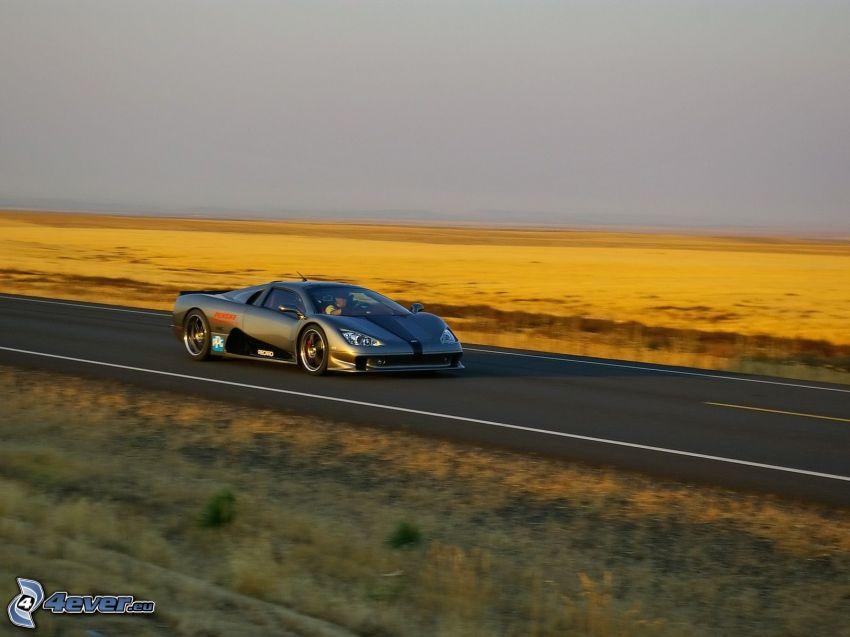 SSC Ultimate Aero TT, camino