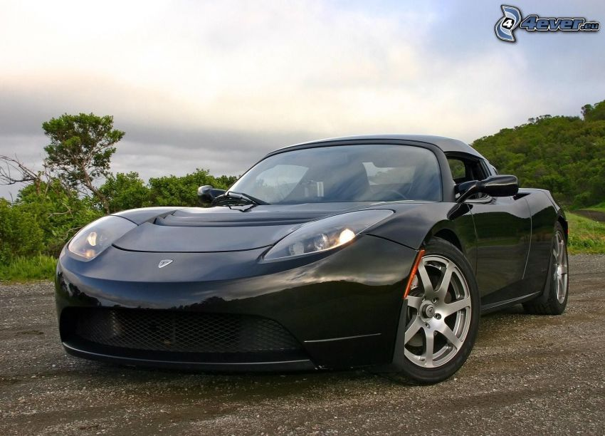 Tesla Roadster, coche eléctrico