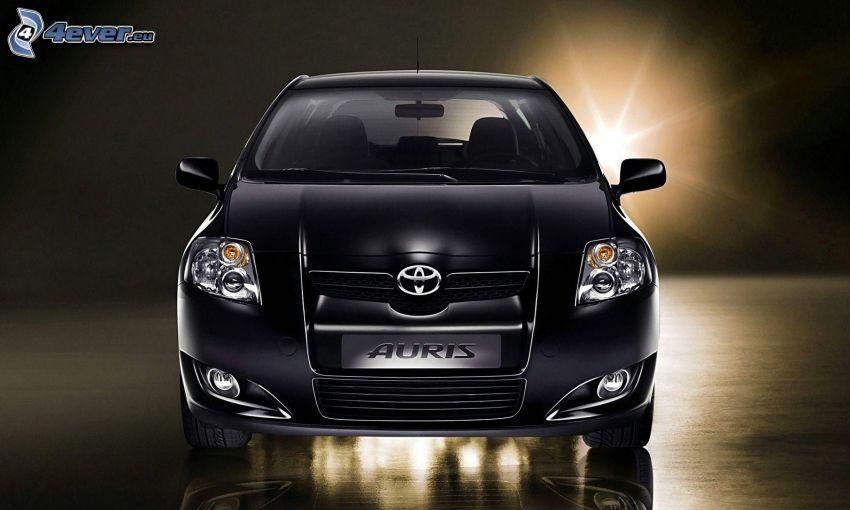 Toyota Auris, luz