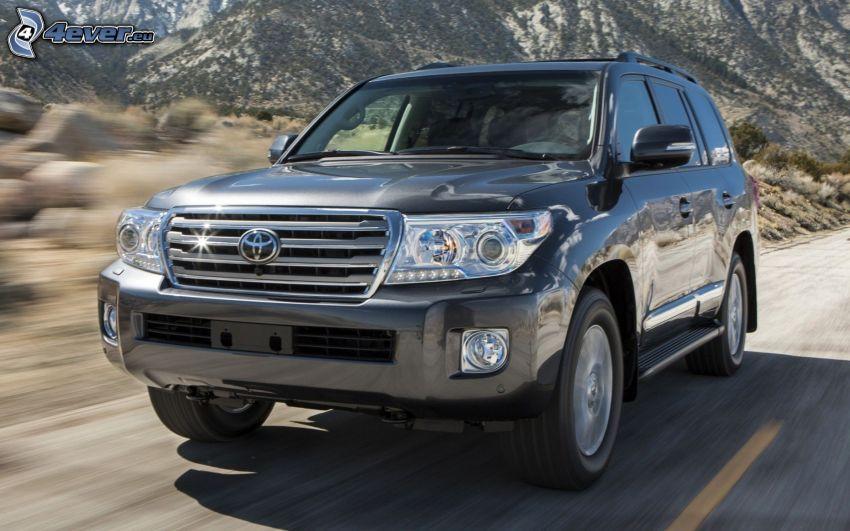 Toyota Land Cruiser, SUV, acelerar