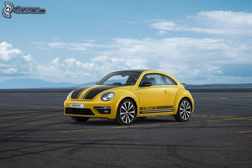 Volkswagen Beetle, parking