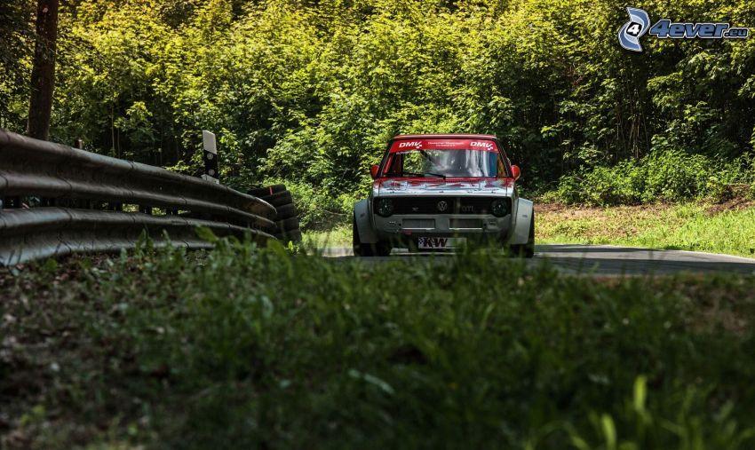 Volkswagen Golf, coche de carreras