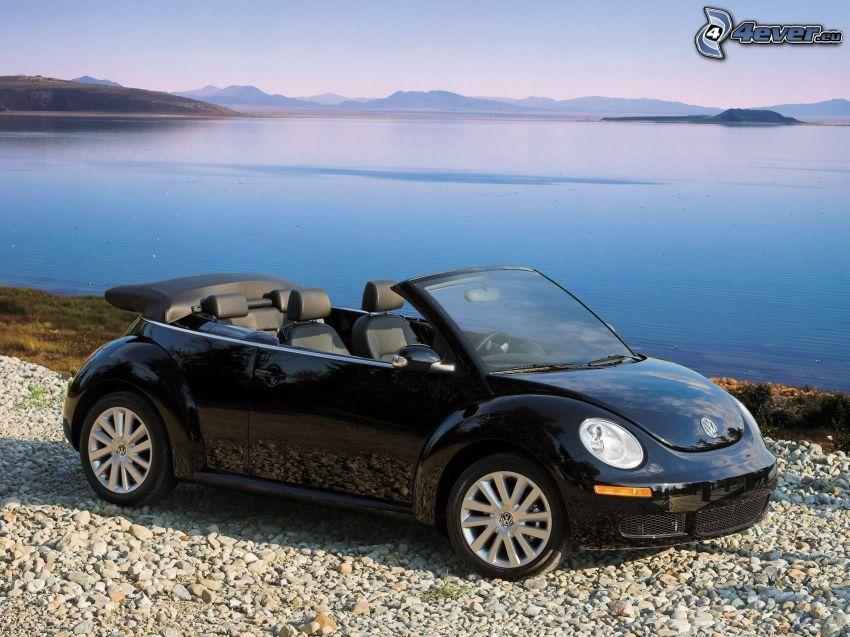 Volkswagen New Beetle Cabrio, vista al mar