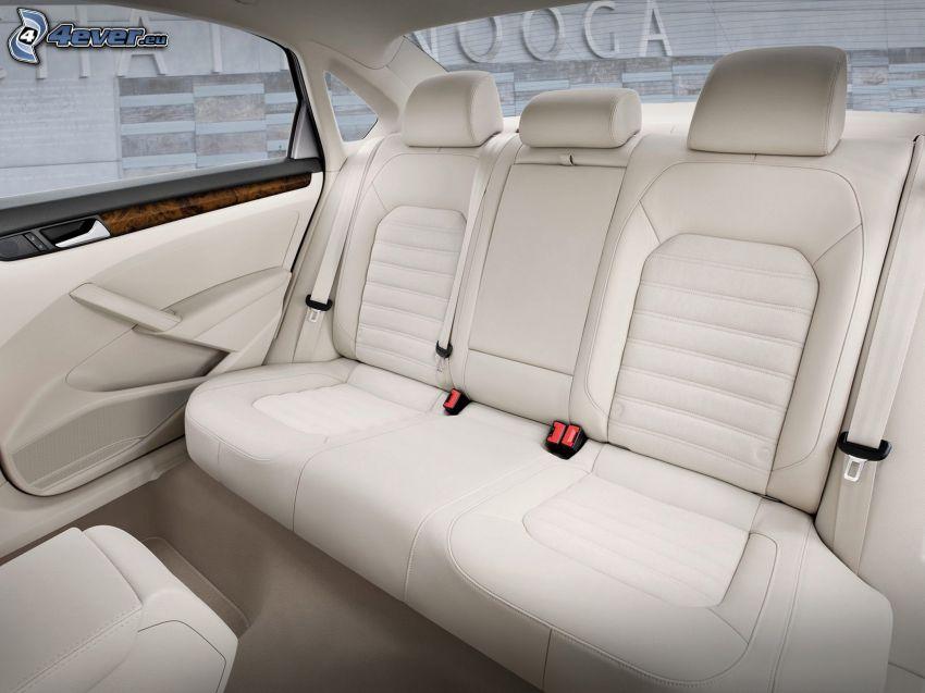 Volkswagen Passat, interior, sillas