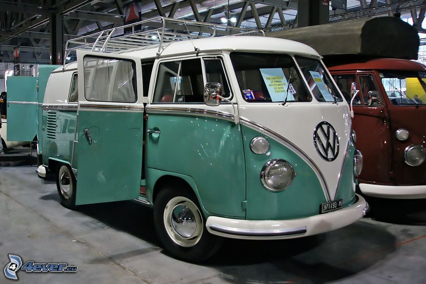 Volkswagen Type 2, carro, veterano