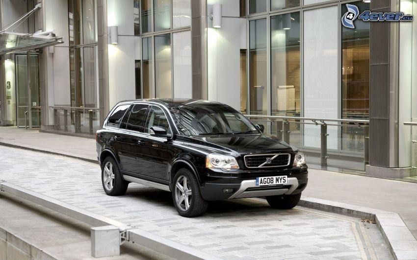 Volvo XC90, SUV, edificio