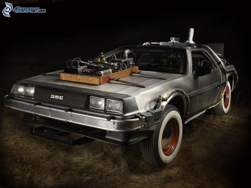 Back to the Future, coche