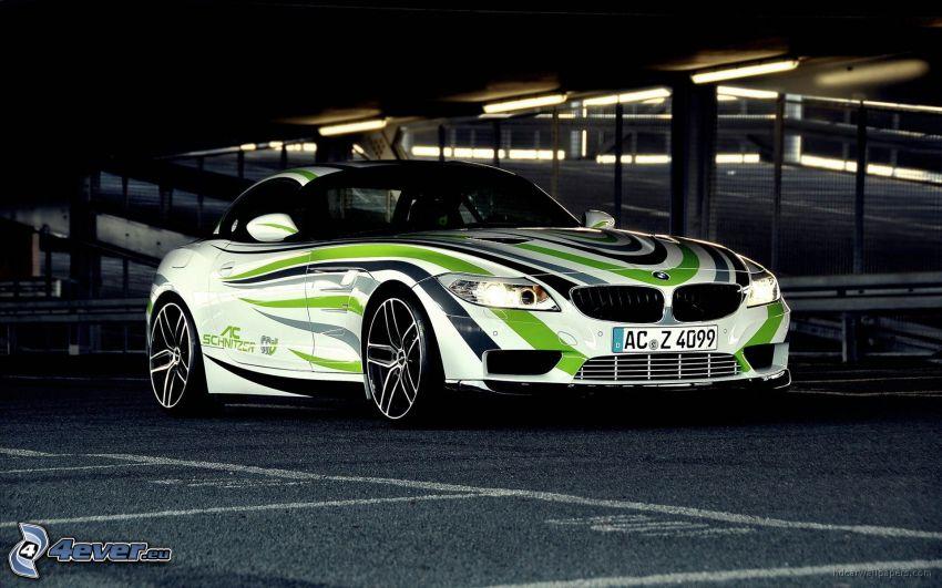 BMW, parking