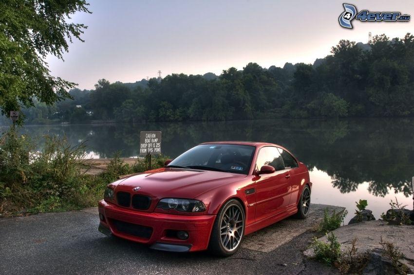 BMW M3, lago