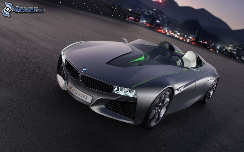 BMW Vision Efficient Dynamics, concepto, descapotable