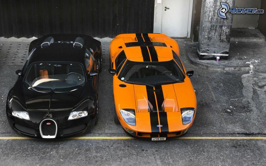 Bugatti Veyron, Ford GT