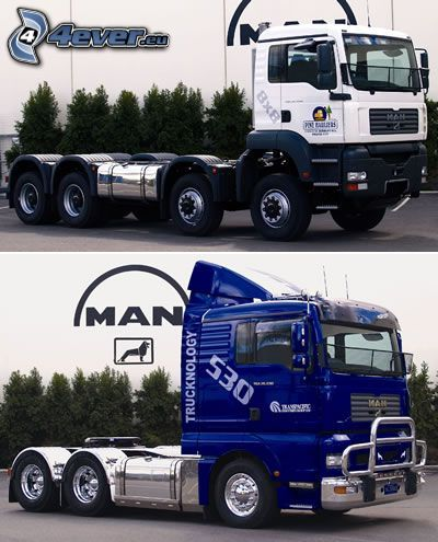 camión, MAN, magnum