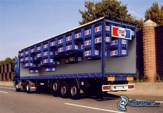 camión, Pepsi