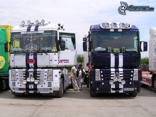 camión, Renault Magnum