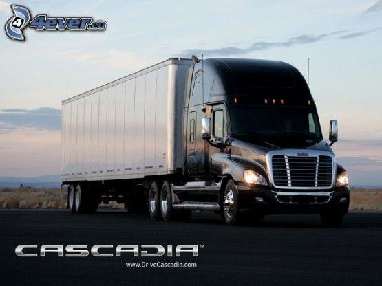 Cascadia, camión