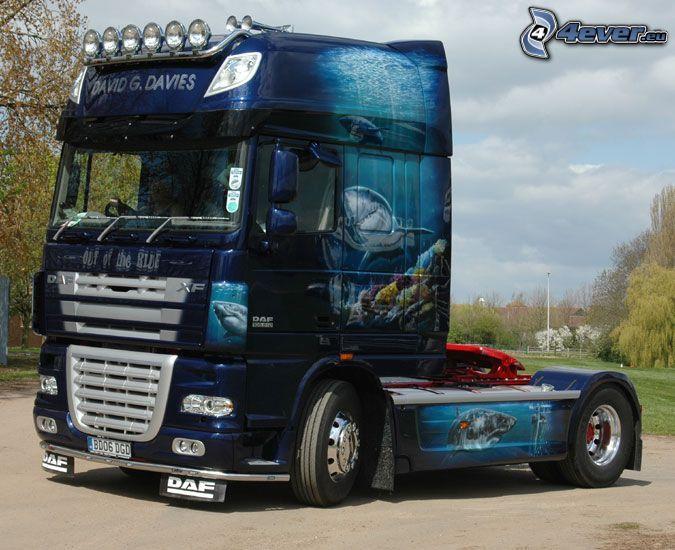 DAF XF 105, camión