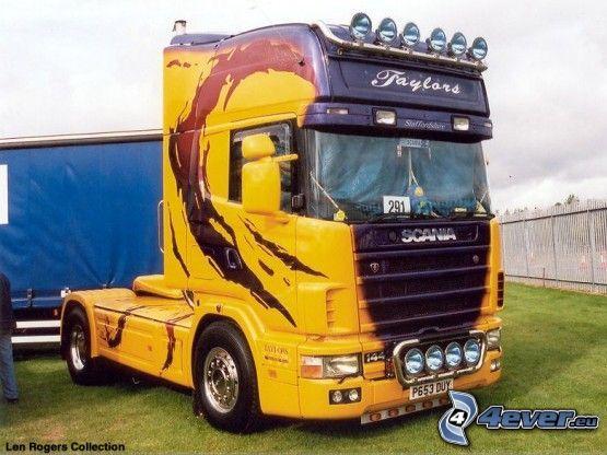 Scania, camión, tuning