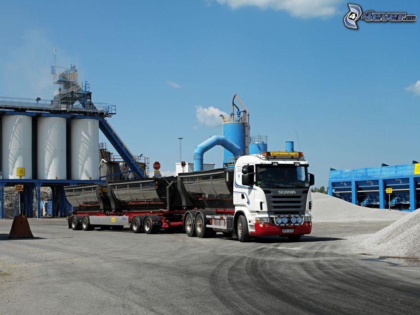 Scania, camión grande