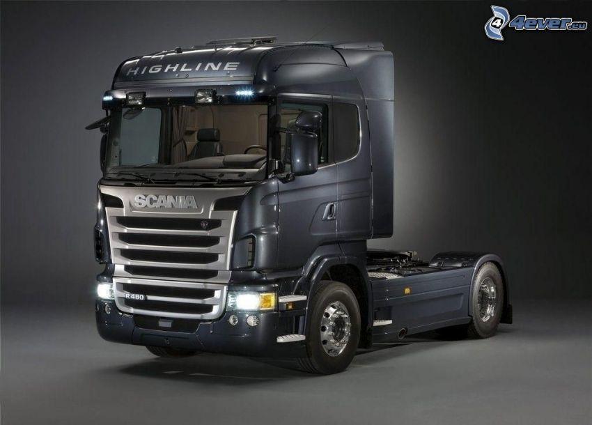 Scania R480, remolque