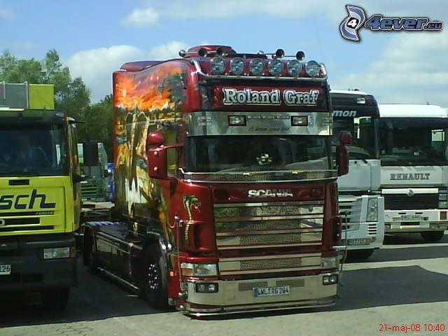 Scania R600