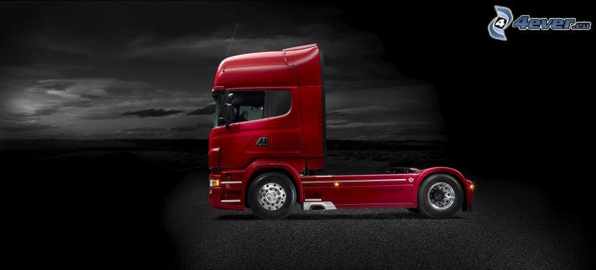 Scania R730, remolque