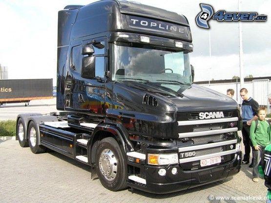 Scania T580, camión