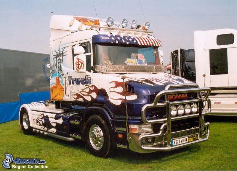 Scania T620 Netherlands Style, camión, remolque