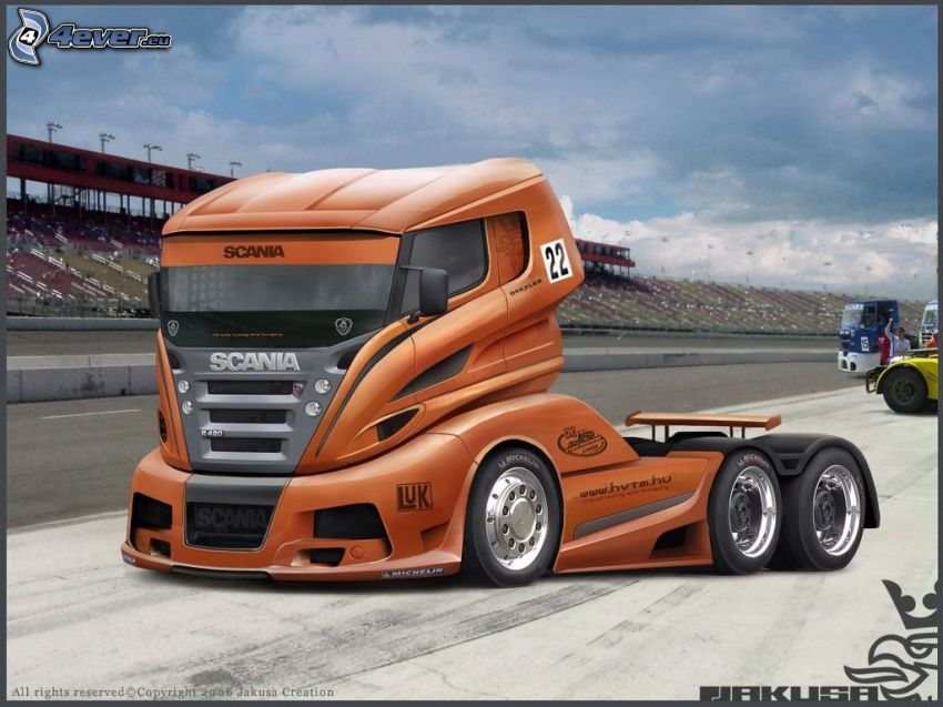 Scania virtual tuning